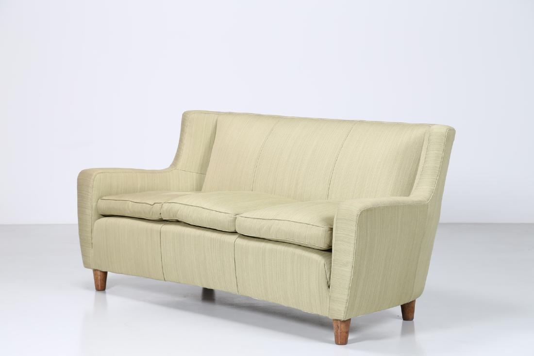 MAURIZIO TEMPESTINI Distinctive three-seater wood and