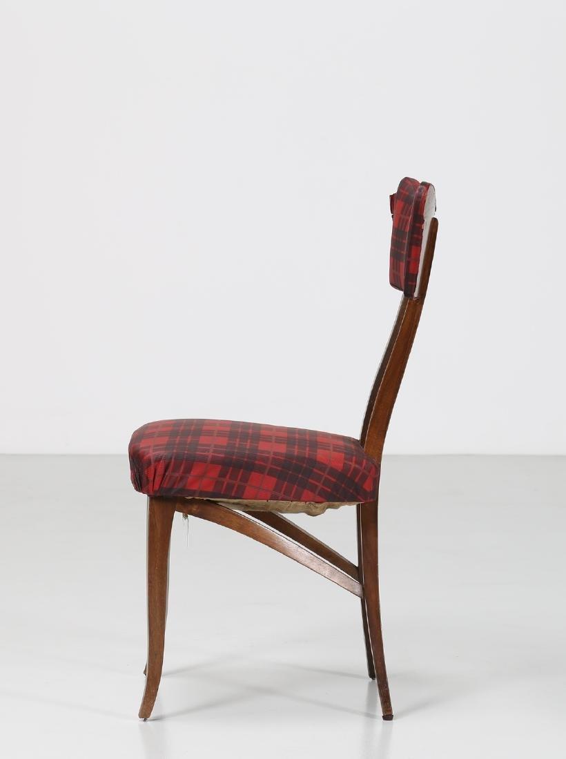 MELCHIORRE BEGA Attrib. Walnut chair with original - 2
