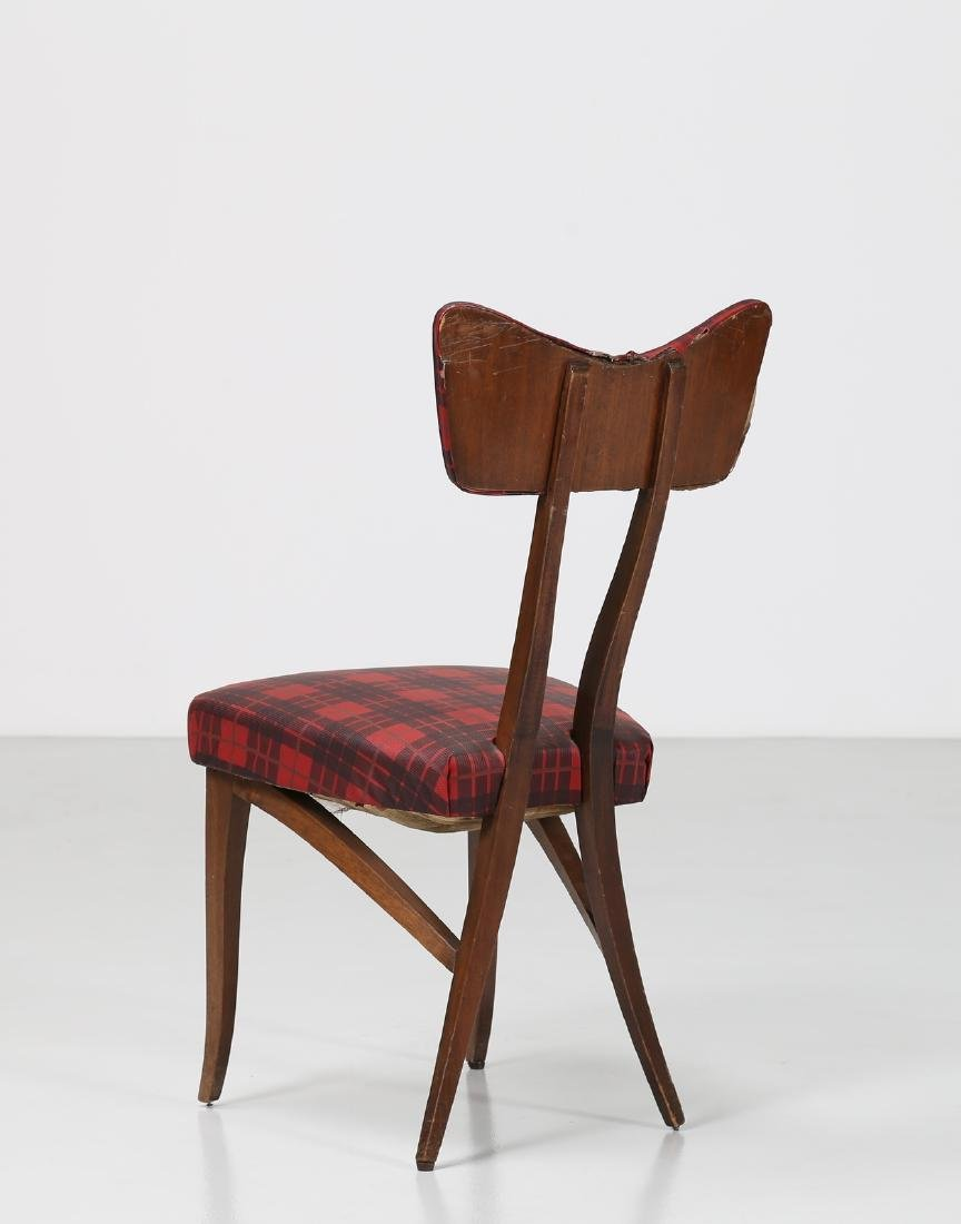 MELCHIORRE BEGA Attrib. Walnut chair with original - 3