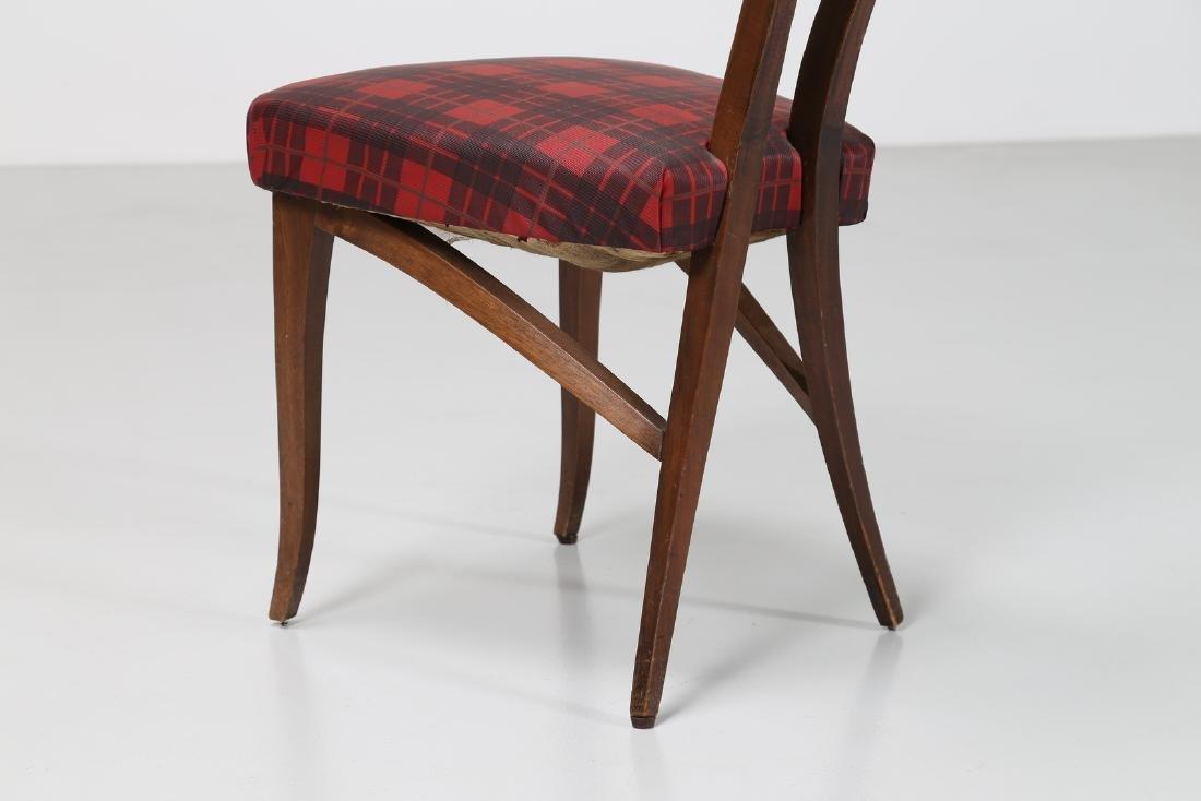 MELCHIORRE BEGA Attrib. Walnut chair with original - 4