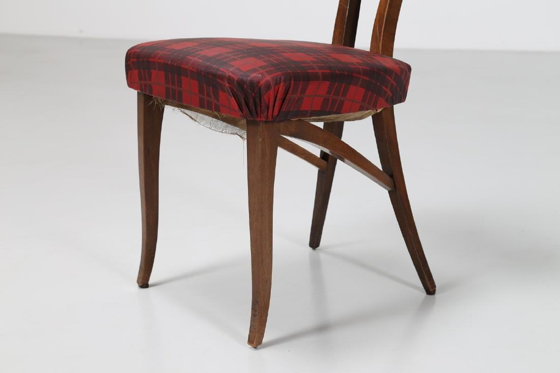 MELCHIORRE BEGA Attrib. Walnut chair with original - 5