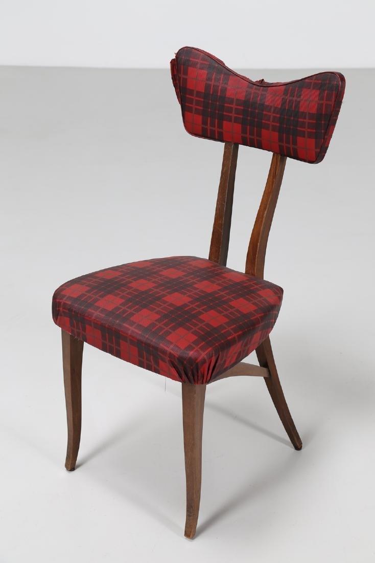 MELCHIORRE BEGA Attrib. Walnut chair with original - 6
