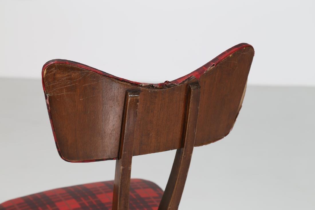 MELCHIORRE BEGA Attrib. Walnut chair with original - 7