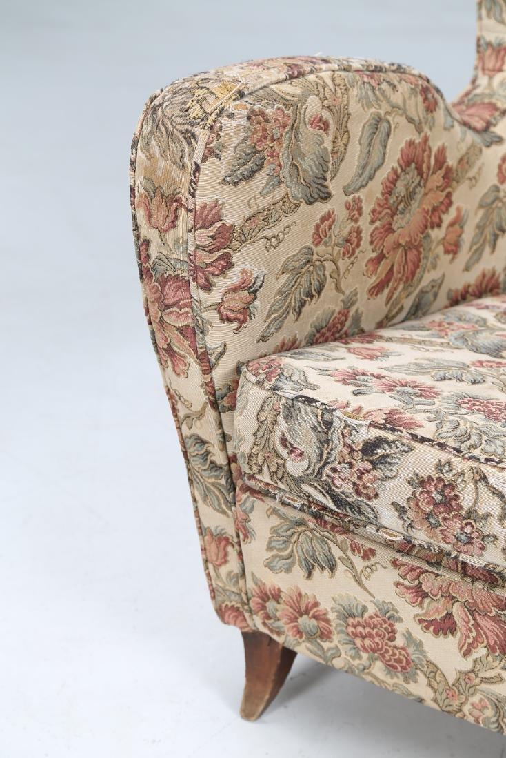MANIFATTURA ITALIANA  Pair of armchairs in wood and - 8