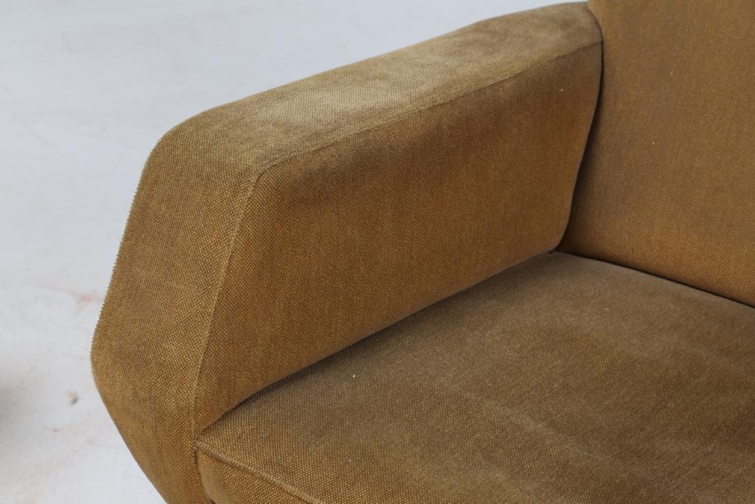 MANIFATTURA ITALIANA  Pair of armchairs in wood and - 7