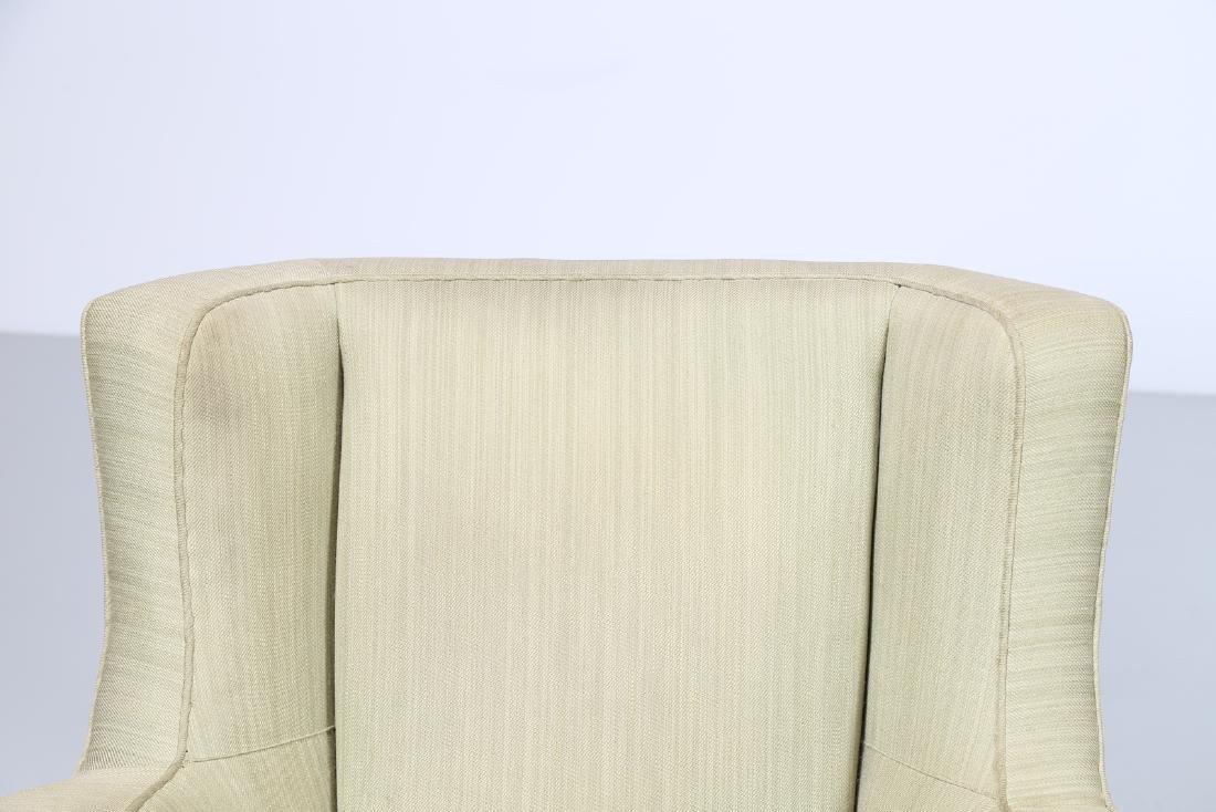 MAURIZIO TEMPESTINI Distinctive pair of wood and fabric - 6