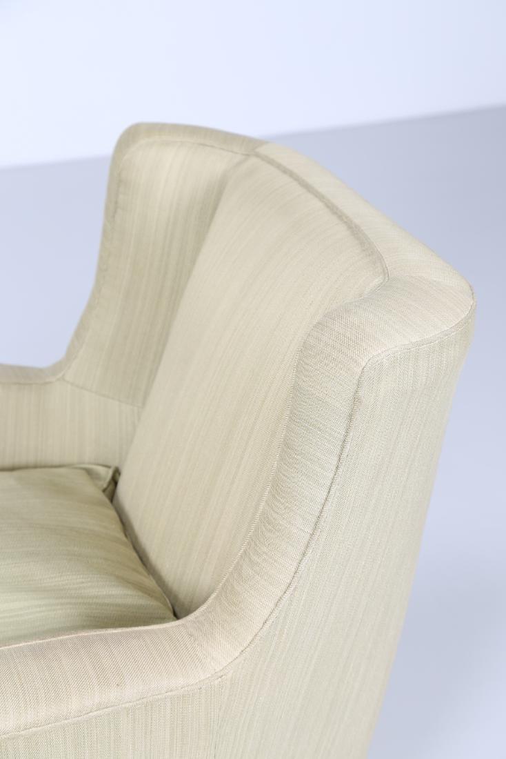 MAURIZIO TEMPESTINI Distinctive pair of wood and fabric - 8