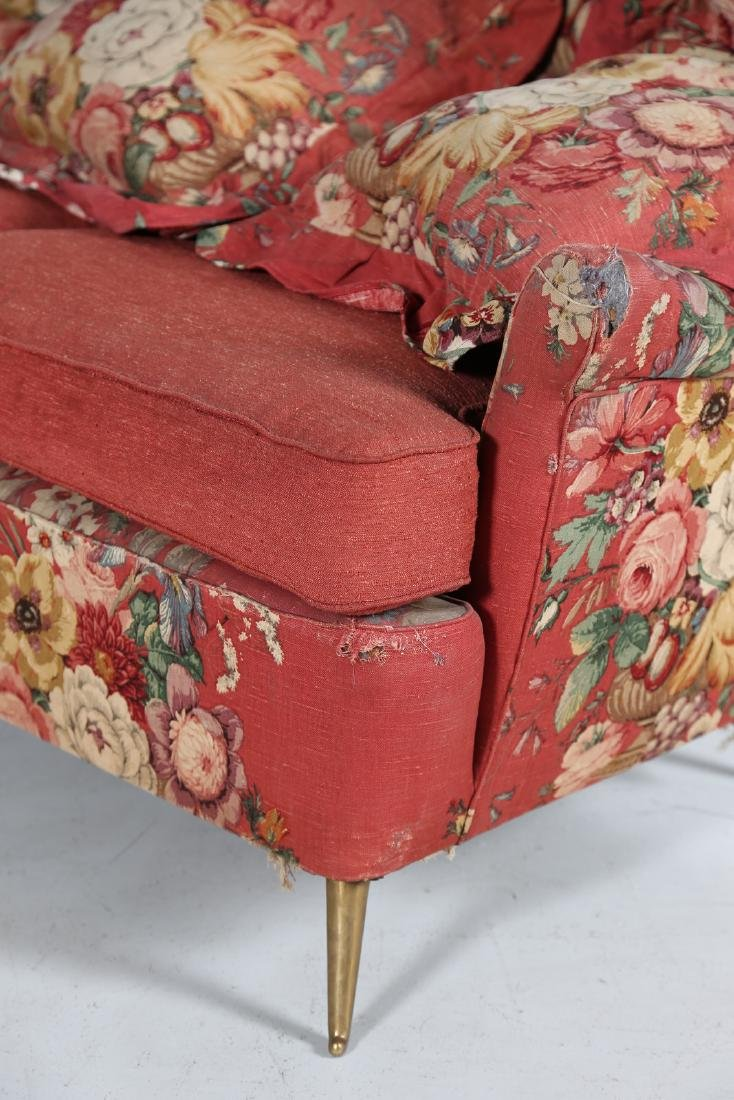 MANIFATTURA ITALIANA  Wood sofa with original fabric - 4