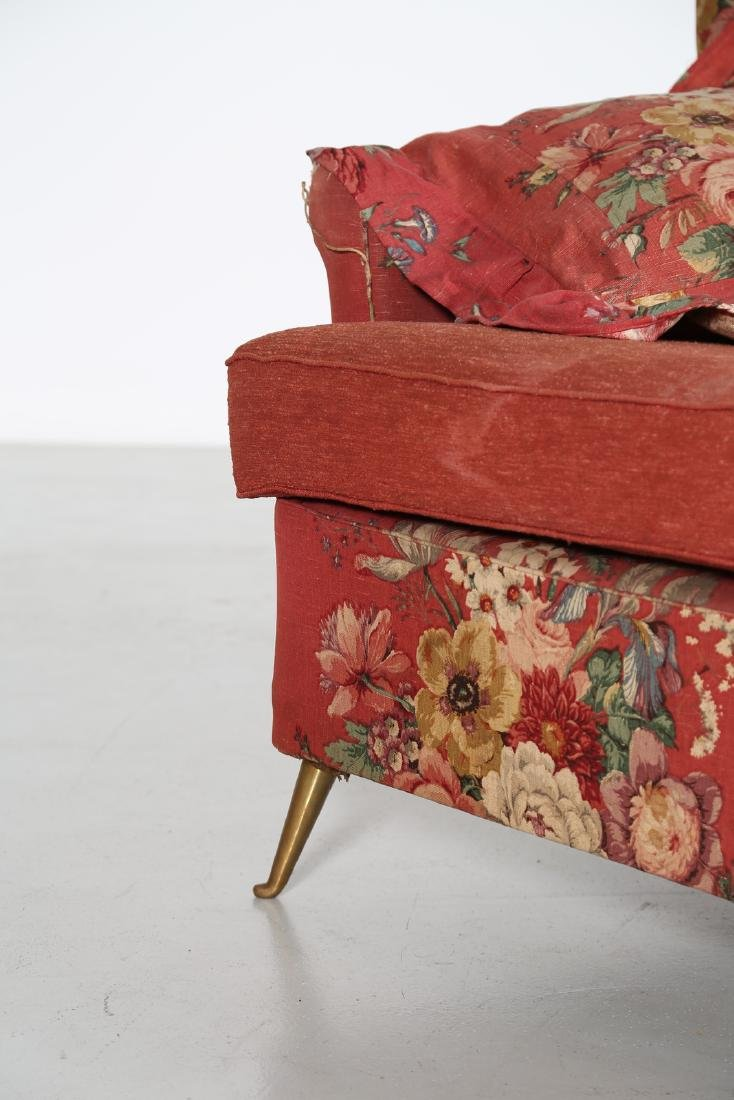 MANIFATTURA ITALIANA  Wood sofa with original fabric - 6