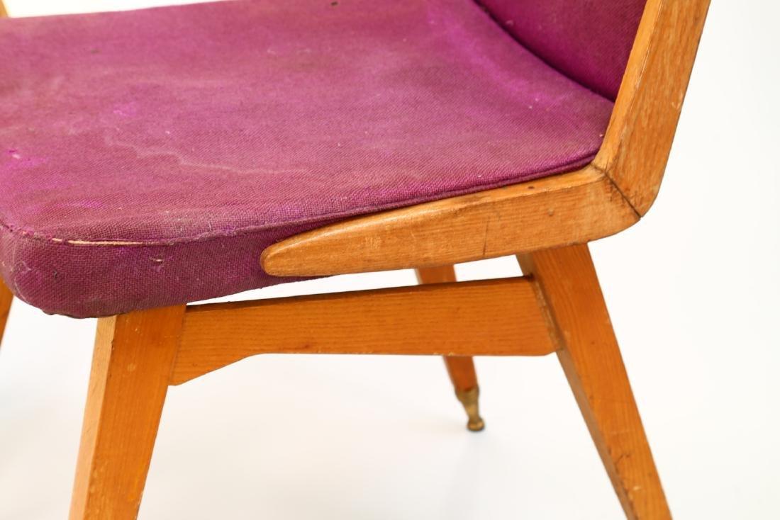 MANIFATTURA ITALIANA  Fifteen chairs in wood, fabric - 2