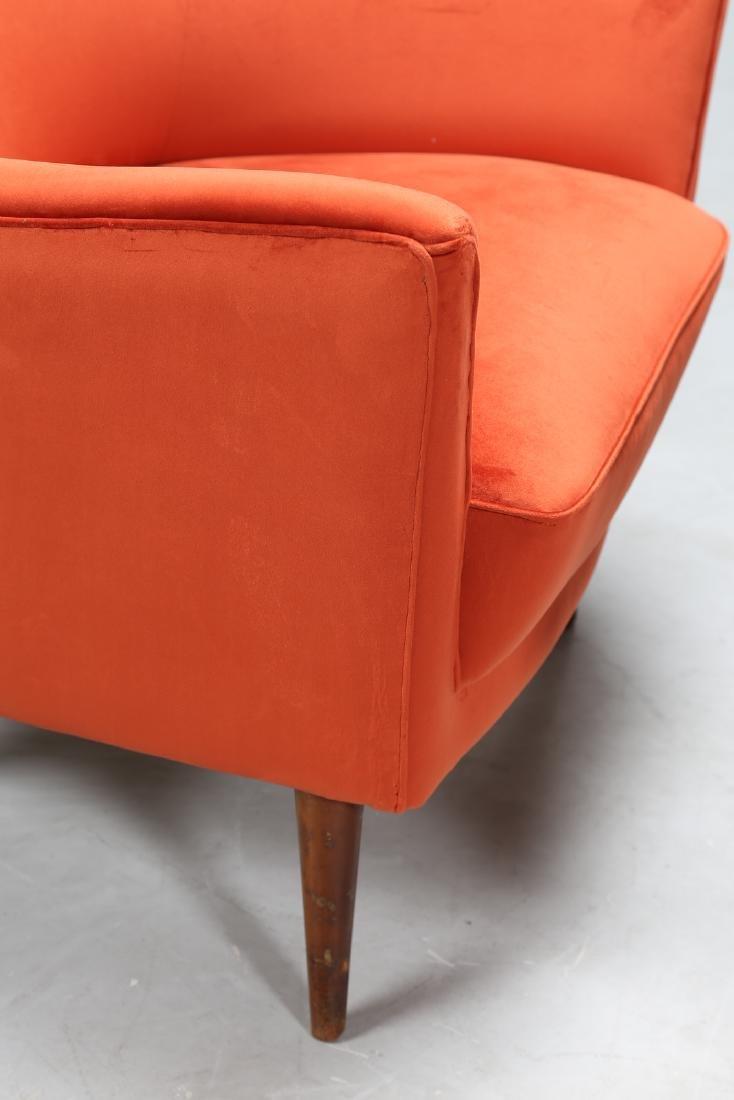 MANIFATTURA ITALIANA  Pair of wood and leather - 5