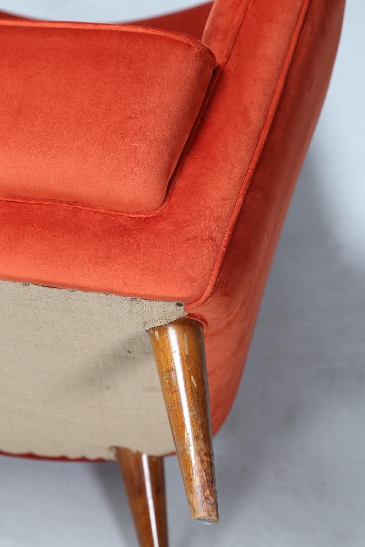 MANIFATTURA ITALIANA  Pair of wood and leather - 7