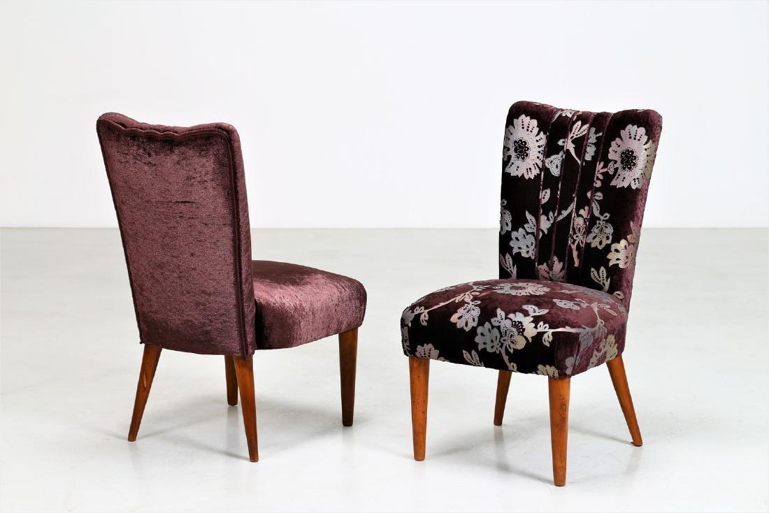 OSVALDO BORSANI Pair of armchairs.