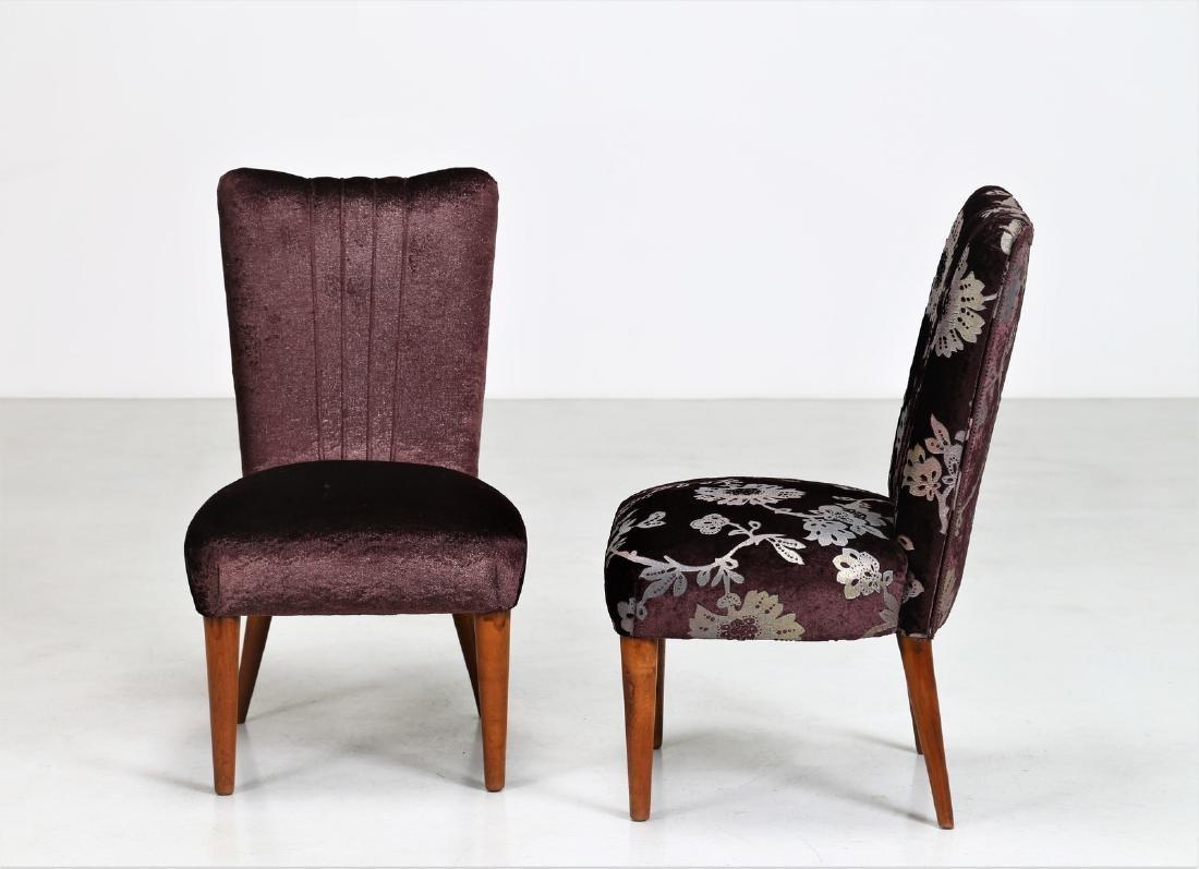 OSVALDO BORSANI Pair of armchairs. - 2