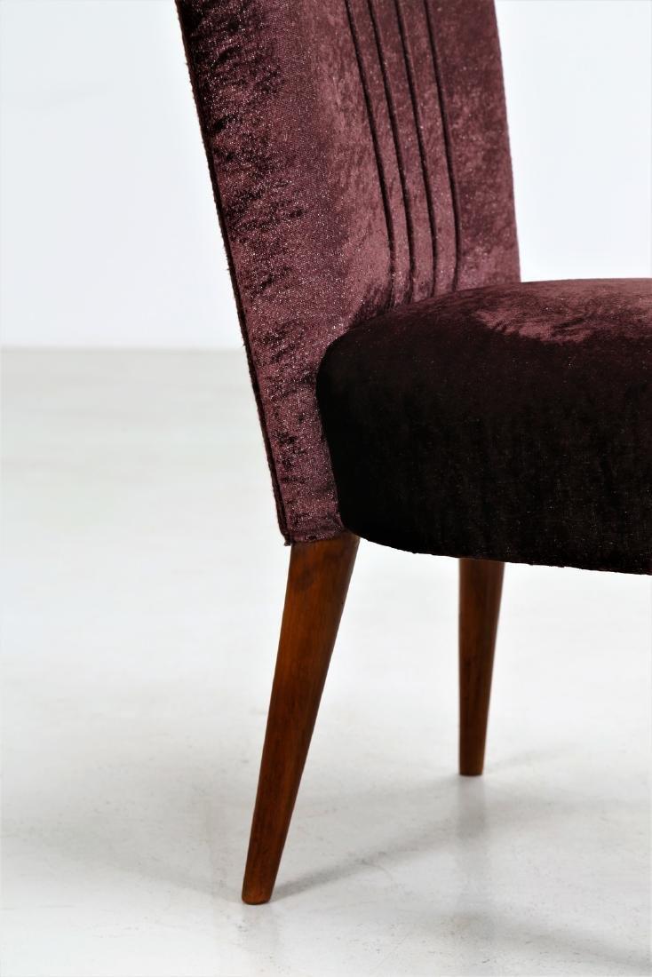 OSVALDO BORSANI Pair of armchairs. - 6