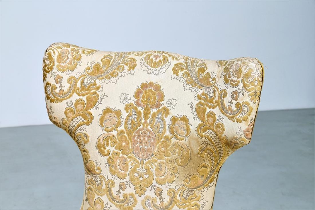 MAURIZIO TEMPESTINI Wood and fabric sofa, 1940s. - 6