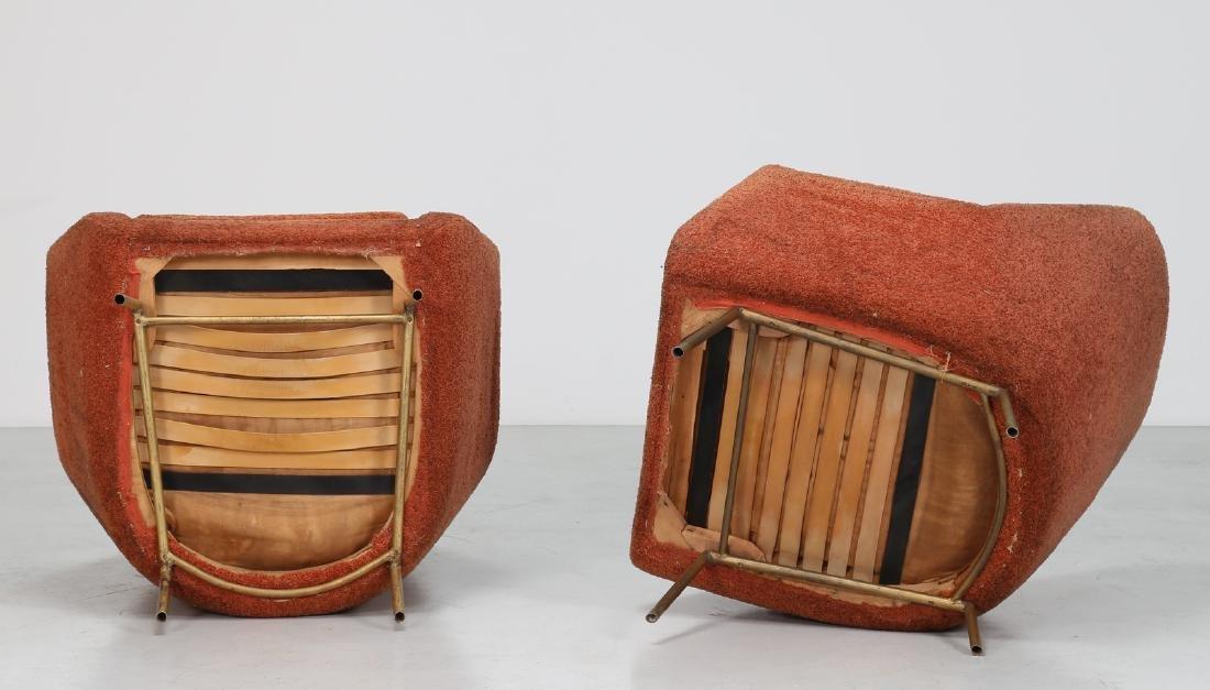 LENZI  Pair of armchairs. - 3