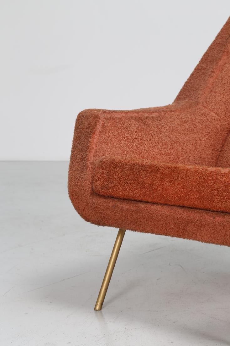 LENZI  Pair of armchairs. - 4