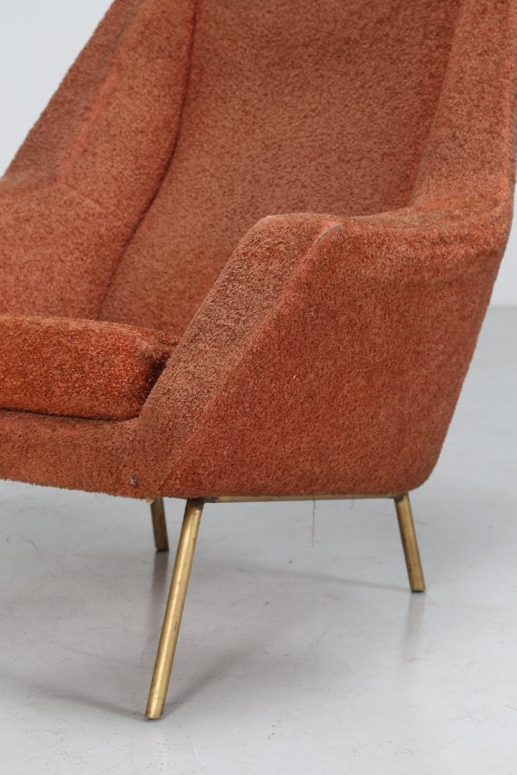 LENZI  Pair of armchairs. - 5
