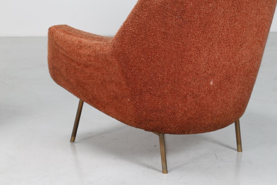 LENZI  Pair of armchairs. - 6