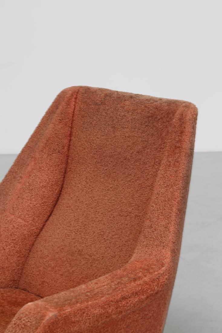 LENZI  Pair of armchairs. - 7