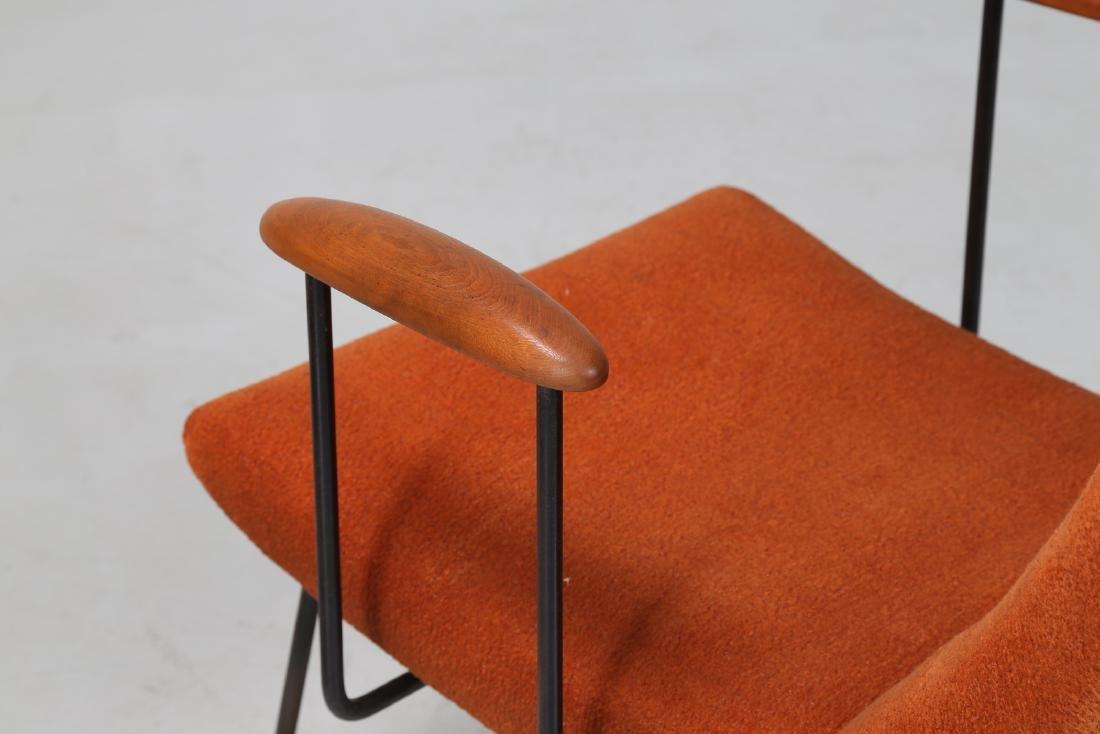 MANIFATTURA ITALIANA  Pair of armchairs. - 3