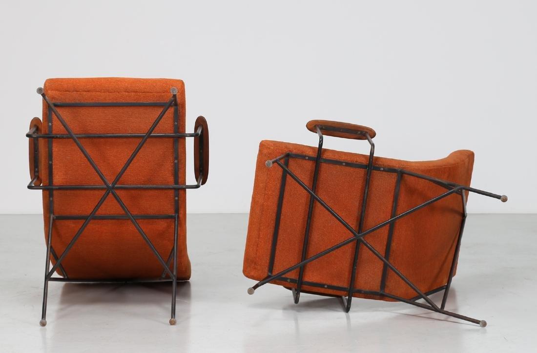 MANIFATTURA ITALIANA  Pair of armchairs. - 4