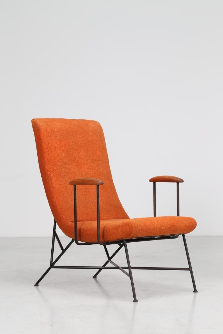 MANIFATTURA ITALIANA  Pair of armchairs. - 5