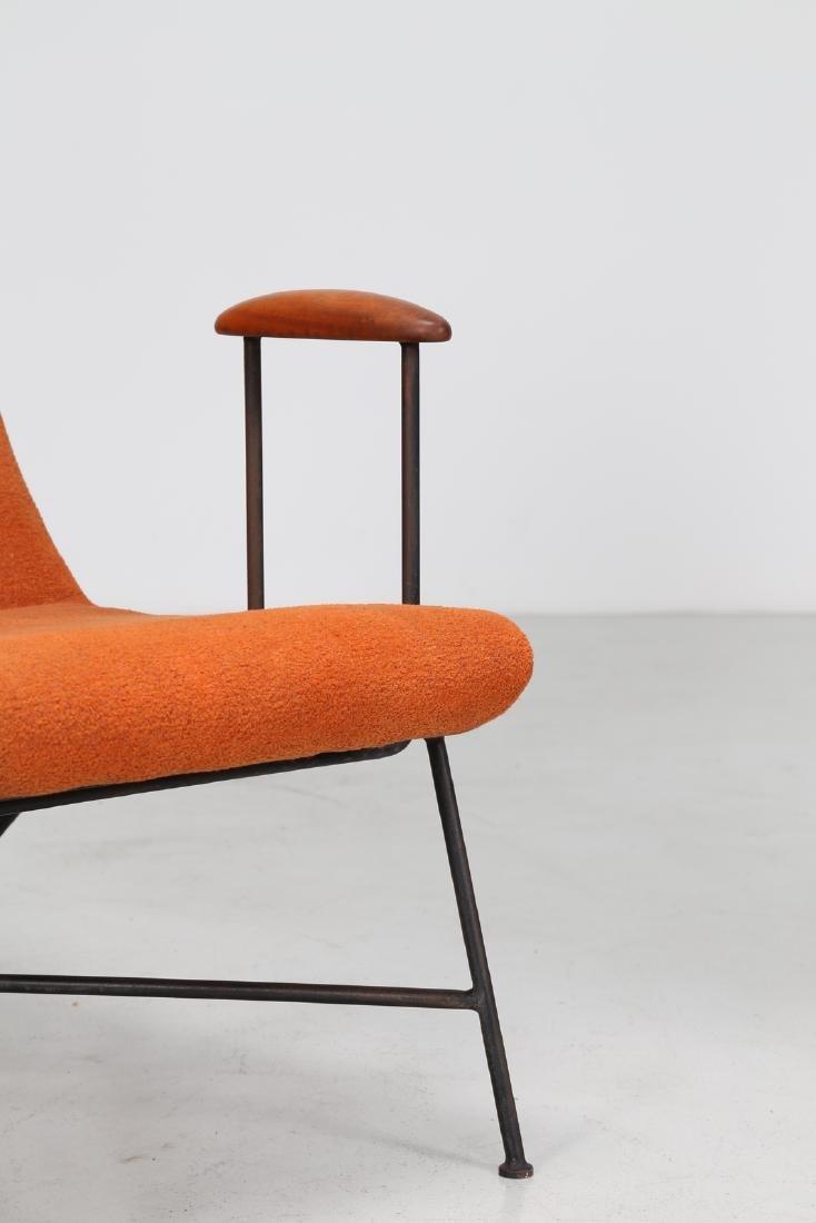 MANIFATTURA ITALIANA  Pair of armchairs. - 6