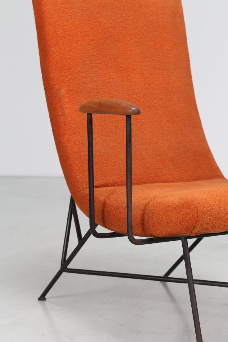 MANIFATTURA ITALIANA  Pair of armchairs. - 7