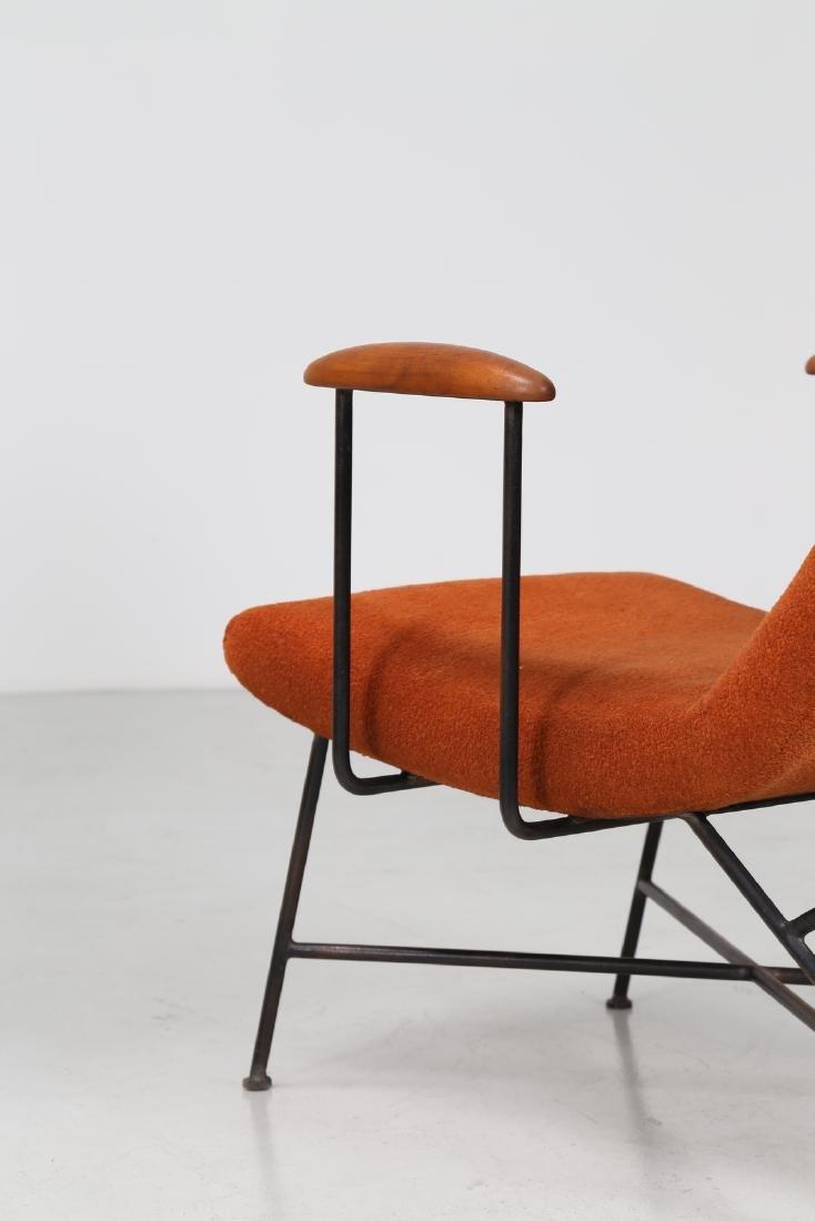 MANIFATTURA ITALIANA  Pair of armchairs. - 8