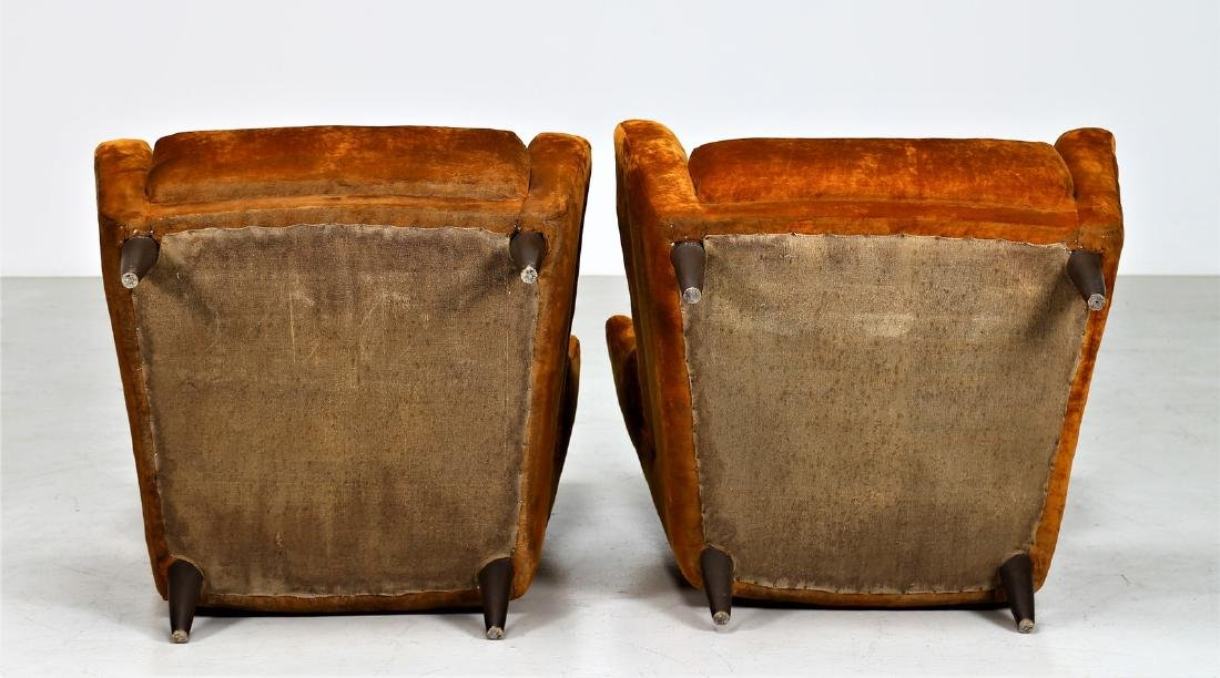 PAOLO CHIOLINI Pair of armchairs. - 3