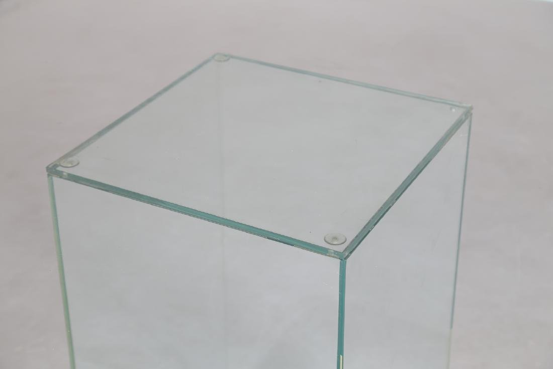 MANIFATTURA ITALIANA  Glass table, 1970s. - 3