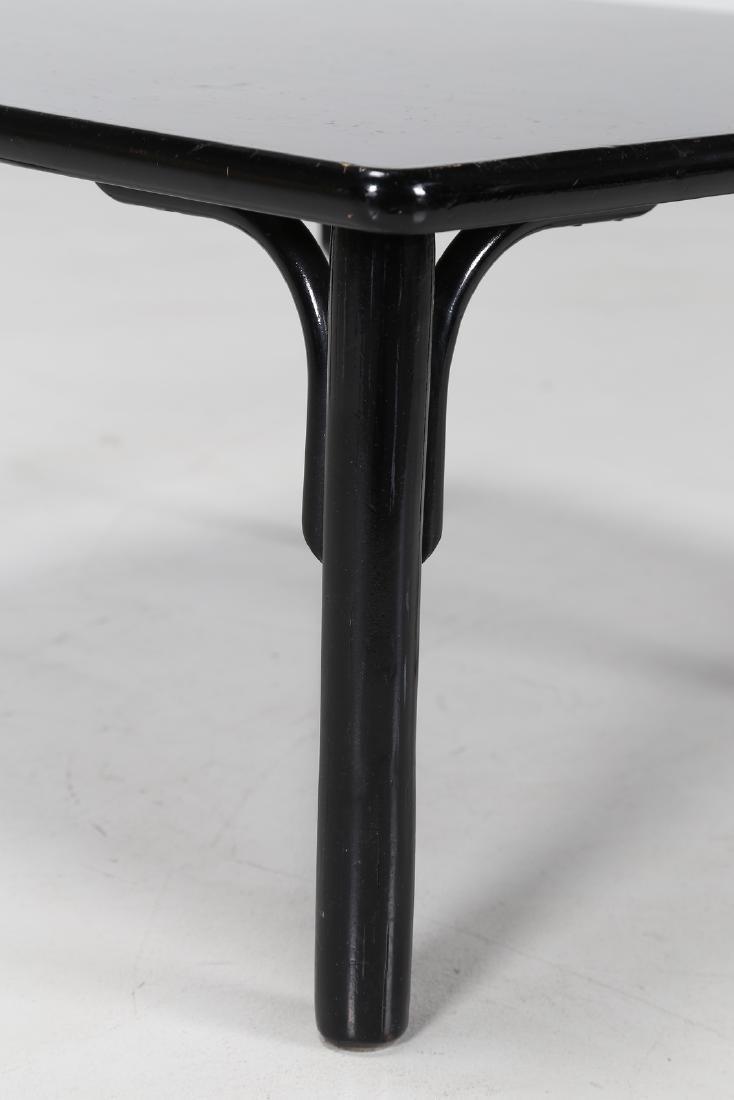 BONACINA 1889 Bamboo and lacquered wood coffee table. - 3