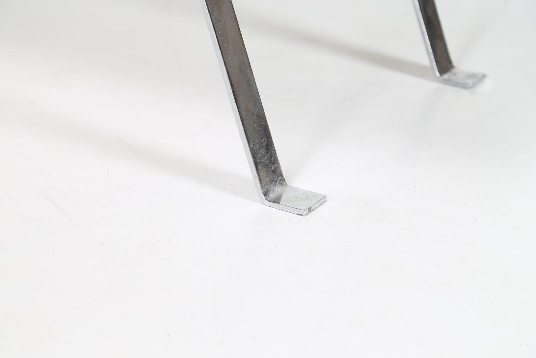 MANIFATTURA ITALIANA  Coffee table in chromed metal - 4