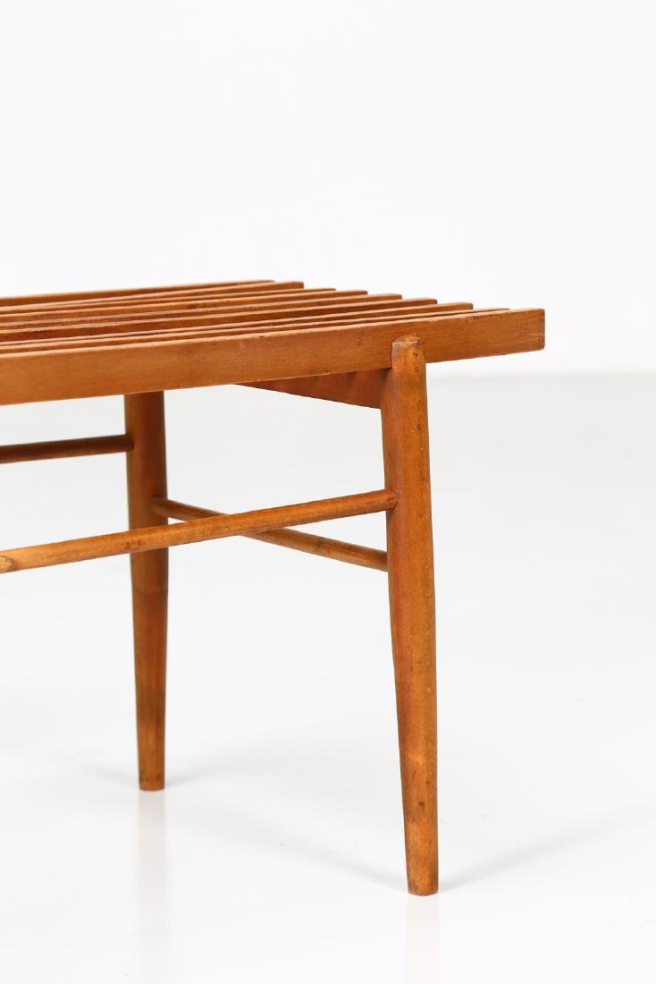 MANIFATTURA ITALIANA  Wood coffee table, 1960s. - 3