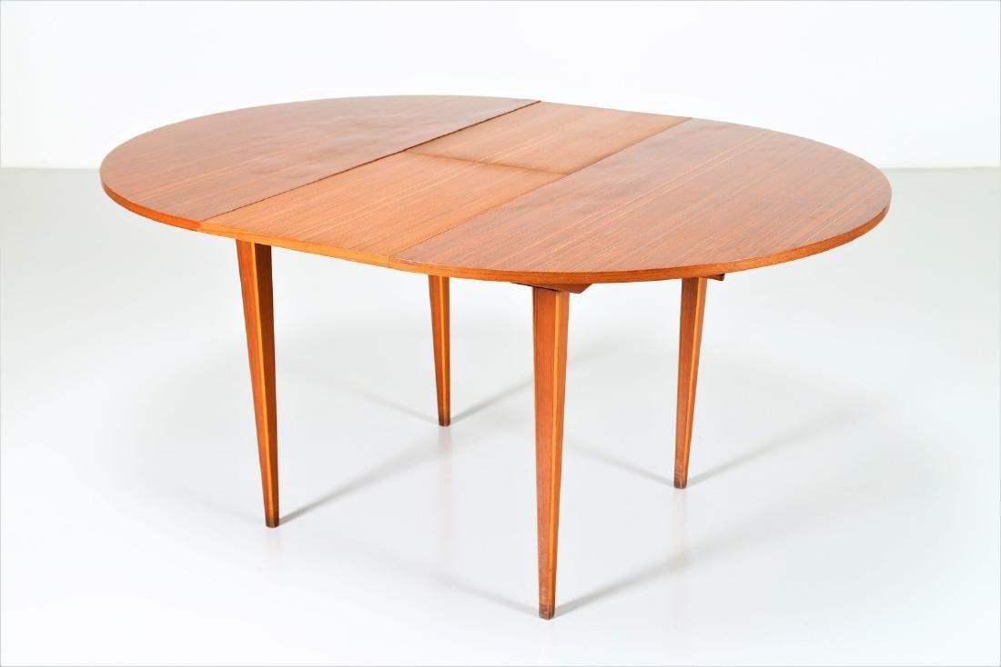 MANIFATTURA ITALIANA  Round extending table. - 4