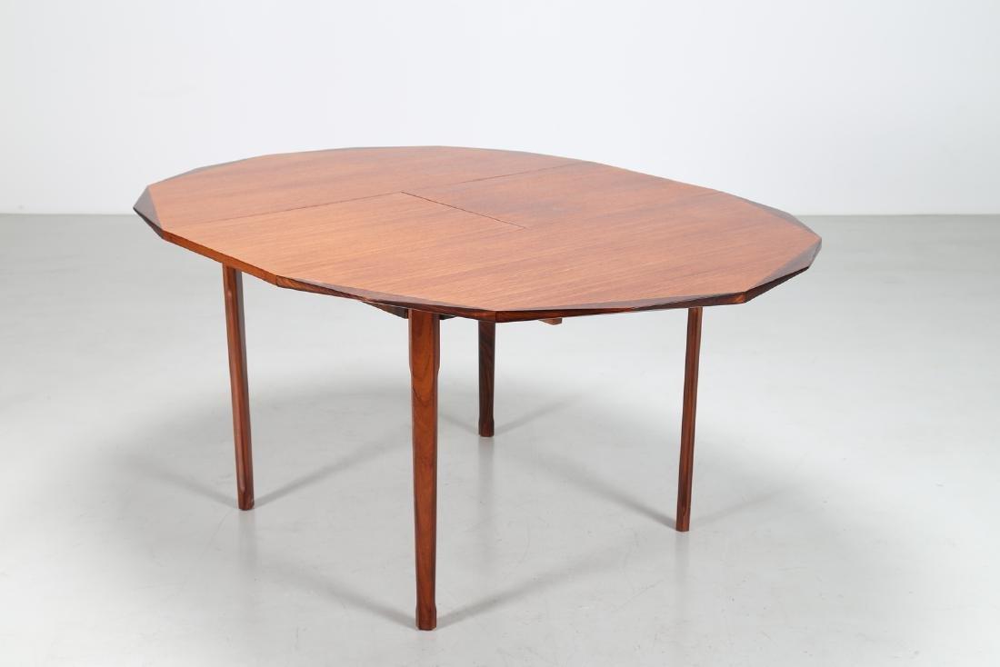 MANIFATTURA ITALIANA  Round extending table in - 2