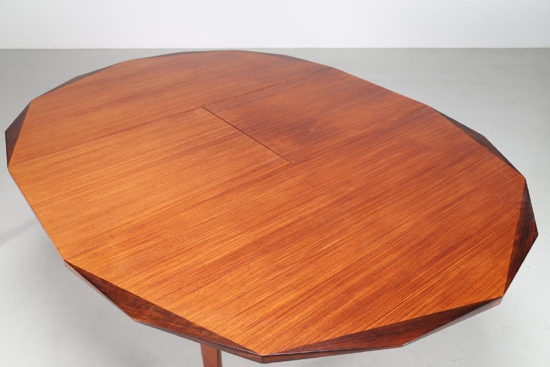 MANIFATTURA ITALIANA  Round extending table in - 3