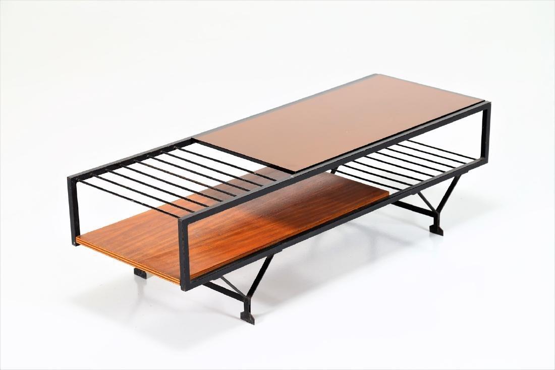 MANIFATTURA ITALIANA  Coffee table in wood, lacquered