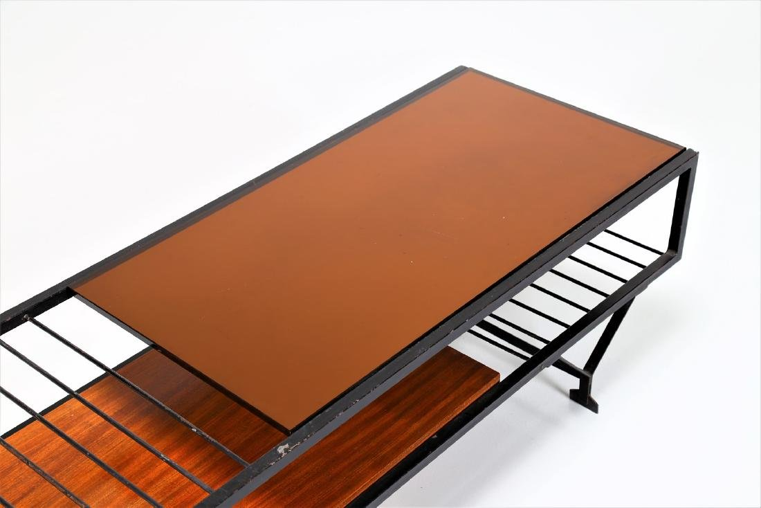 MANIFATTURA ITALIANA  Coffee table in wood, lacquered - 5