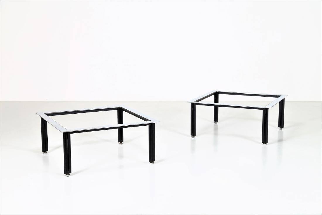 LUIGI CACCIA DOMINIONI Pair of small tables in