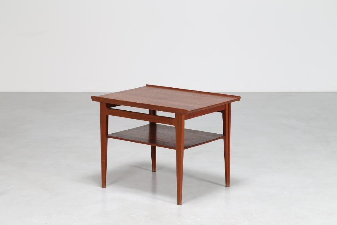 FINN JUHL Teak coffee table by France & Søn, 1950s.