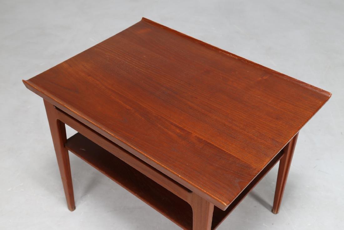 FINN JUHL Teak coffee table by France & Søn, 1950s. - 2