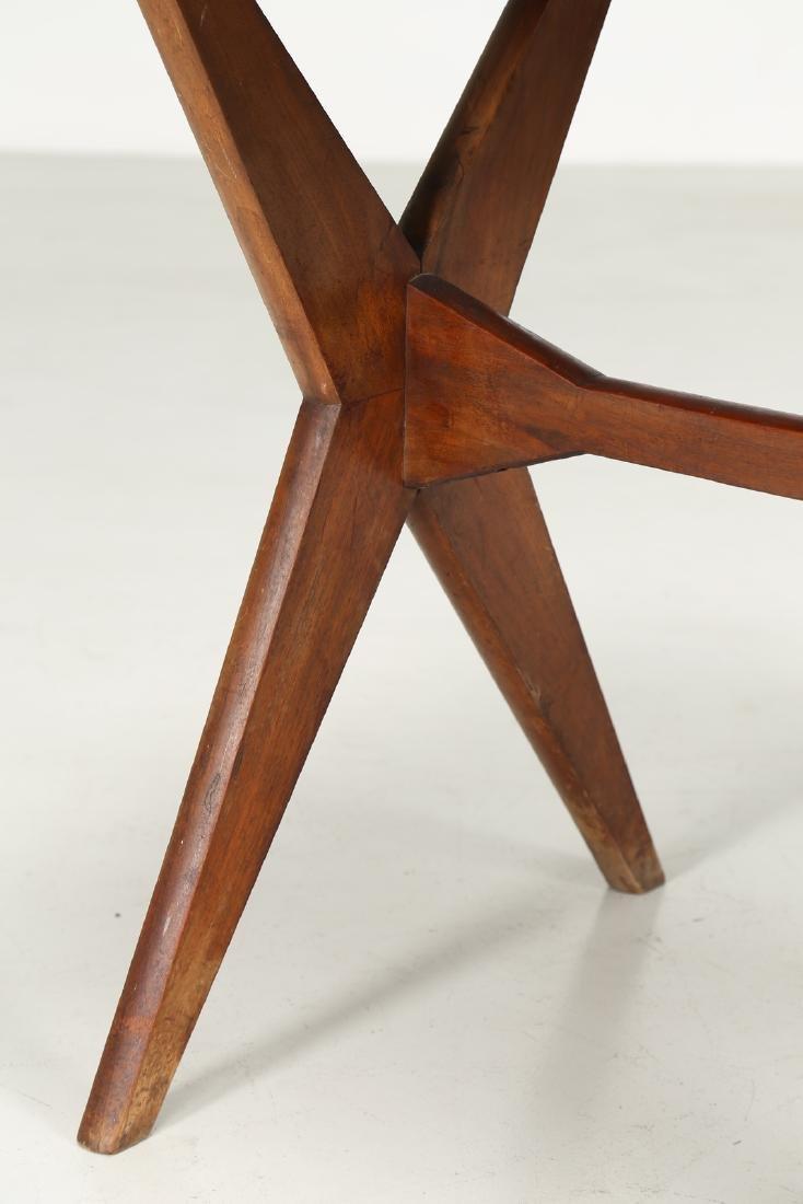 MANIFATTURA ITALIANA  Walnut and Formica table, 1950s. - 3
