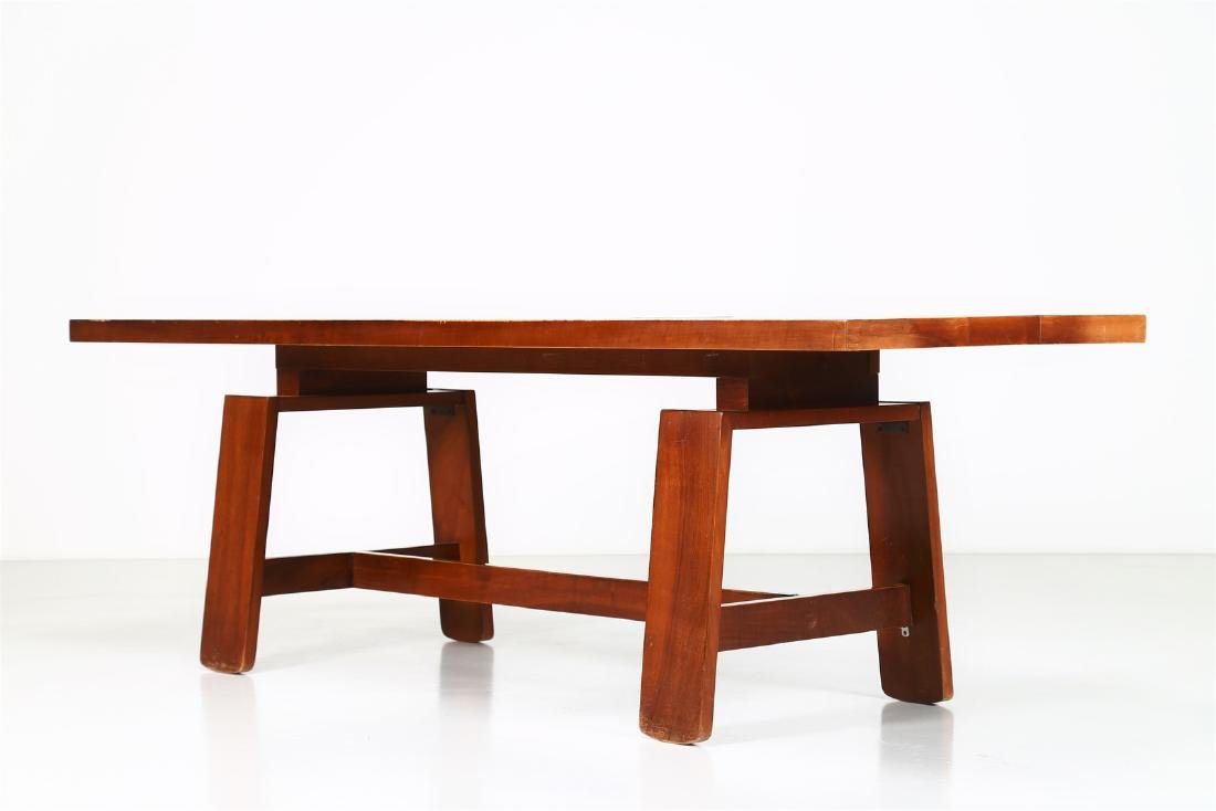 SILVIO COPPOLA Solid walnut table by Bernini, 1969. - 3