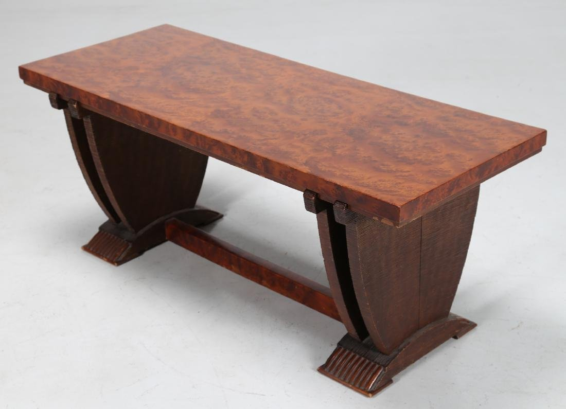 PIER LUIGI COLLI Smoking table in wood and briar root, - 2