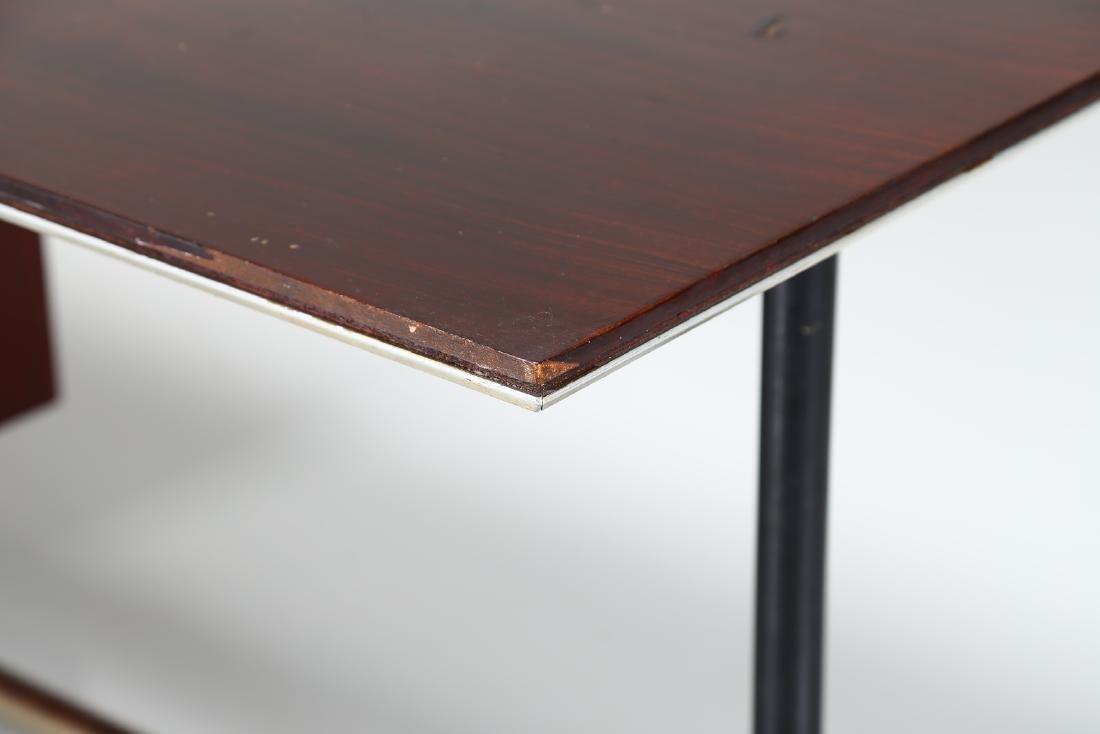GIO PONTI - ALBERTO ROSSELLI Rosewood desk in - 5