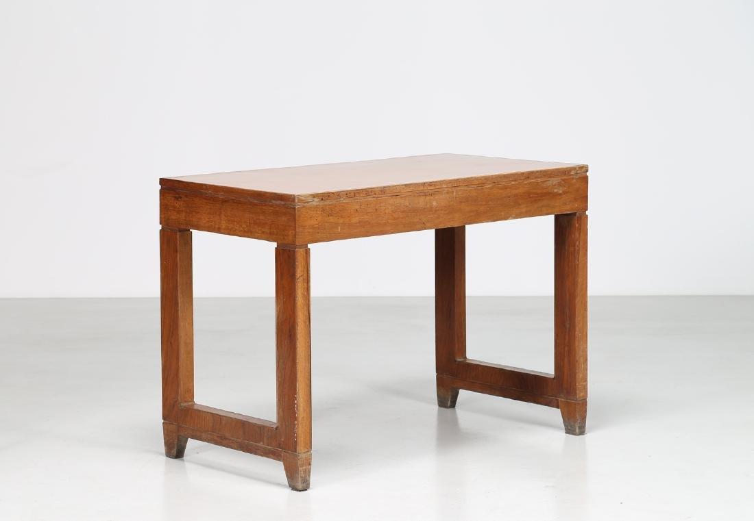 GIOVANNI MICHELUCCI Distinctive wood and Formica desk. - 2