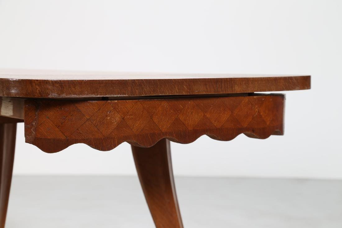 PAOLO BUFFA Extending oak table, 1950s. - 4